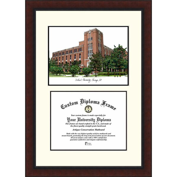 NCAA DePaul University Legacy Scholar Diploma Picture Frame by Campus Images