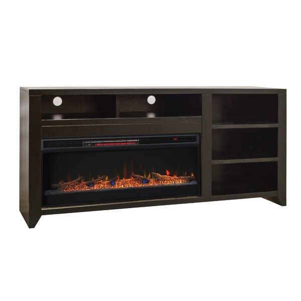 Kolya 72 TV Stand Electric Fireplace by Darby Home Co