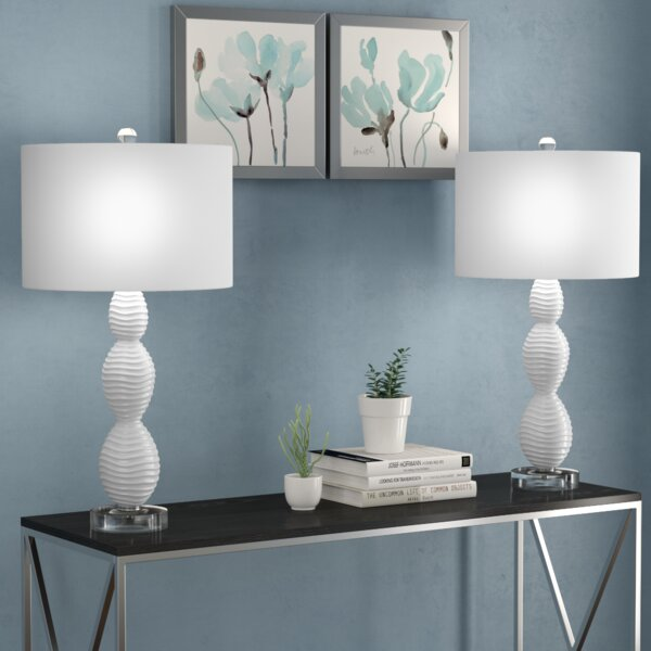 Dominguez 28.75 Table Lamp (Set of 2) by Mercury Row