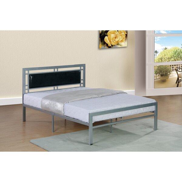 Reymond Upholstered Platform Bed by Wrought Studio