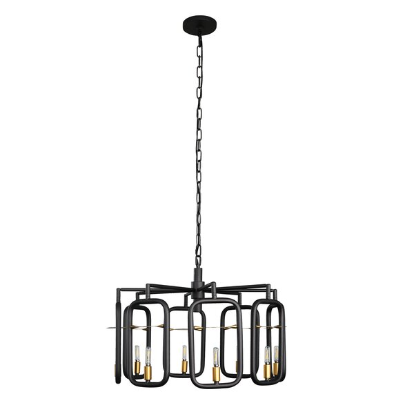 Bar None 8-Light Novelty Chandelier by Varaluz
