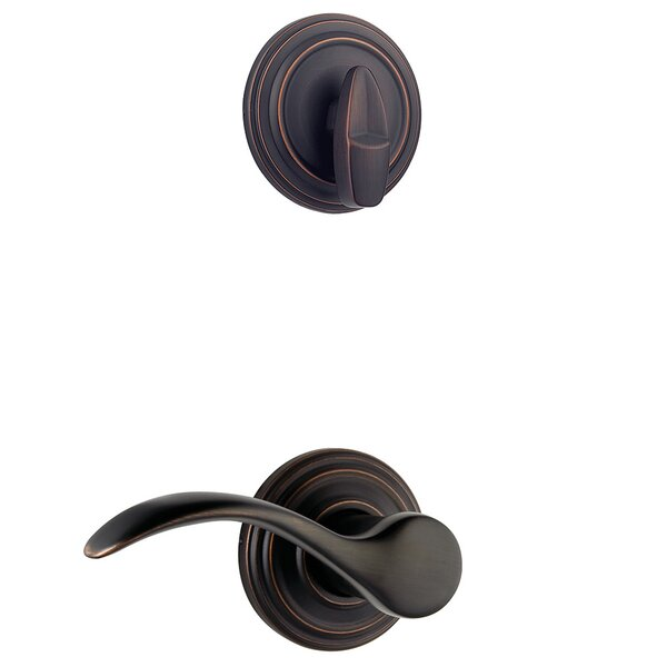 Pembroke Single Cylinder Entrance Handleset, Interior Handle Only by Kwikset