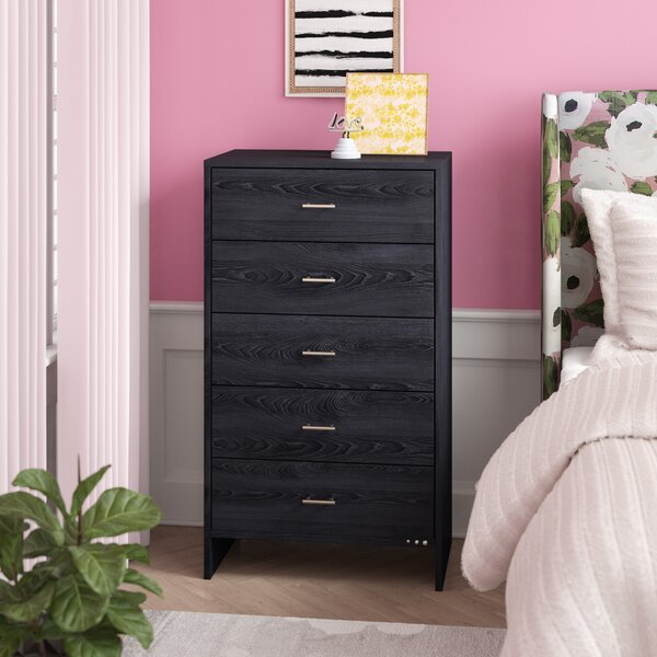Manan 5 Drawer Chest by Willa Arlo Interiors