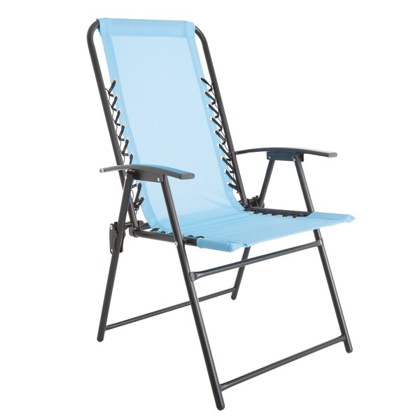 Suspension Folding Camping Chair by Pure Garden Pure Garden