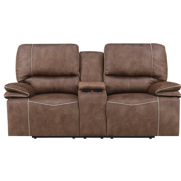 Top Recommend Kettering Reclining Loveseat by Red Barrel Studio by Red Barrel Studio