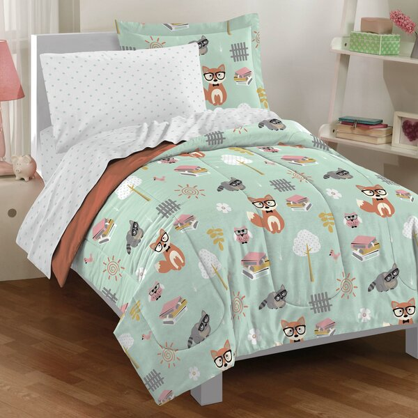 Forest Pals 5 Piece Bedding Set By Birch Lane Kids.