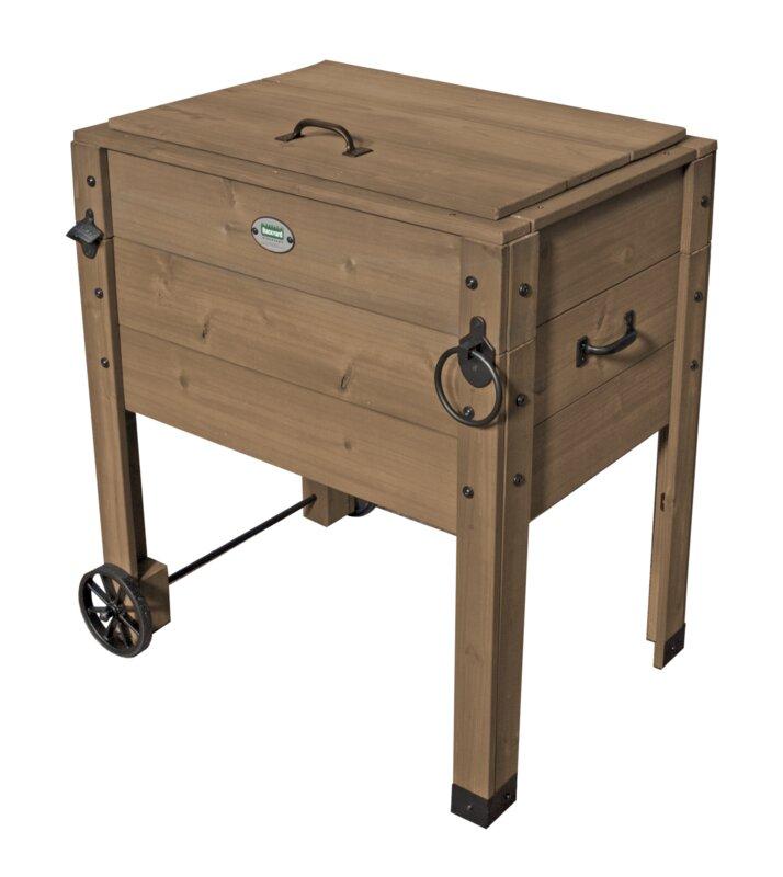 Attractive Brown Outdoor Patio Cooler