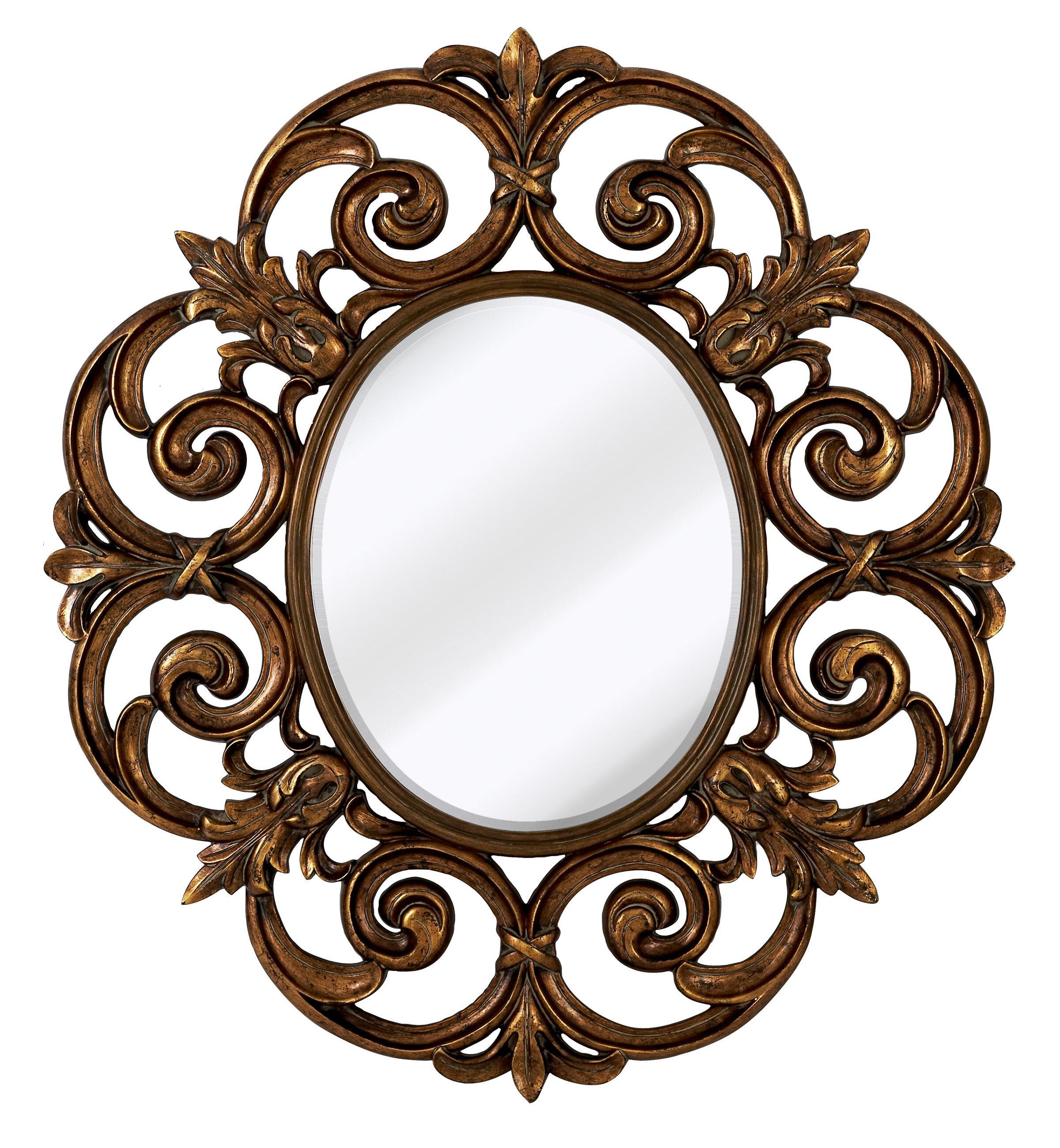 decor kitchen decorative mirror amazon wall abbyson com dp home round zen