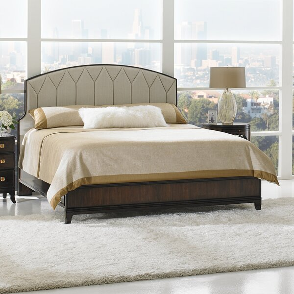 Crestaire Upholstered Platform Bed by Stanley Furniture