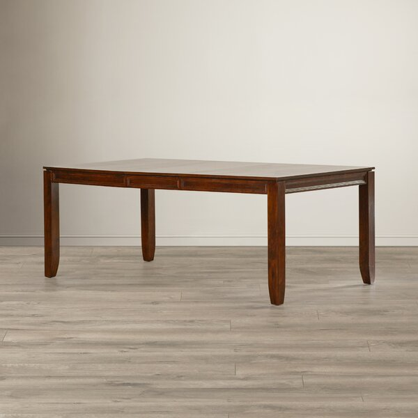 Starke Solid Wood Dining Table by Red Barrel Studio Red Barrel Studio
