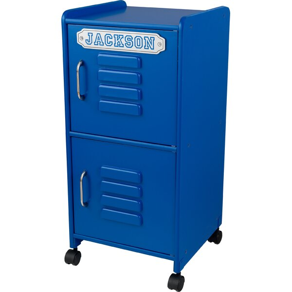 Personalized 2 Tier 1 Wide Kids Locker by KidKraft