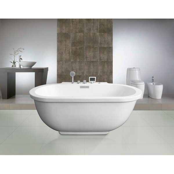 71 x 37 Whirlpool Bathtub by Ariel Bath