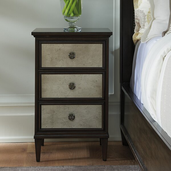 Brentwood 3 Drawer Nightstand by Barclay Butera