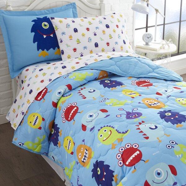 Monsters Comforter Set by Wildkin