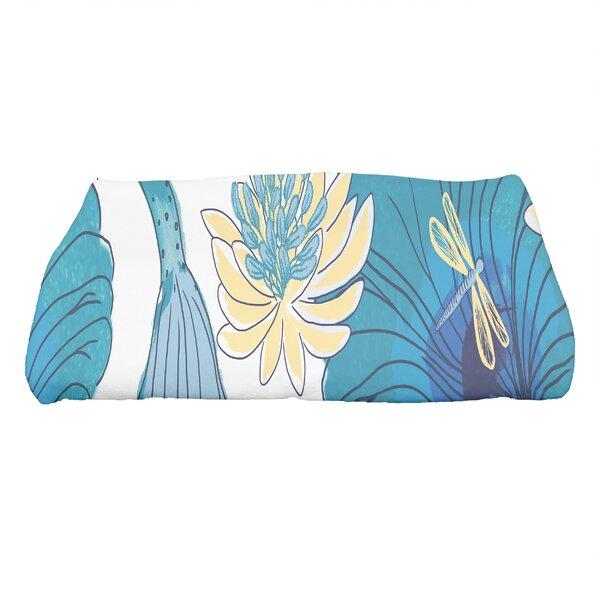 Monteiro Floral Print Bath Towel by Latitude Run