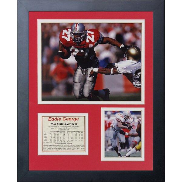 Eddie George Framed Memorabilia by Legends Never Die