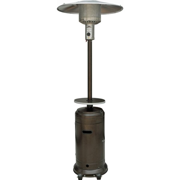 Gentil AZ Patio Heaters Tall 48,000 BTU Propane Patio Heater U0026 Reviews | Wayfair
