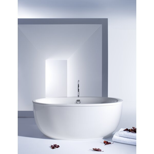 Sunstruck Freestanding 66 x 36 Soaking Bathtub by Kohler