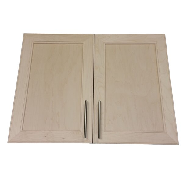 Village 31 W x 25.5 H Wall Mounted Cabinet by WG Wood Products