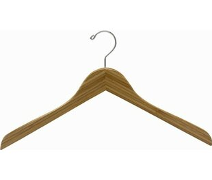 Bargain Bamboo Top Hanger (Set of 25) By Only Hangers Inc.