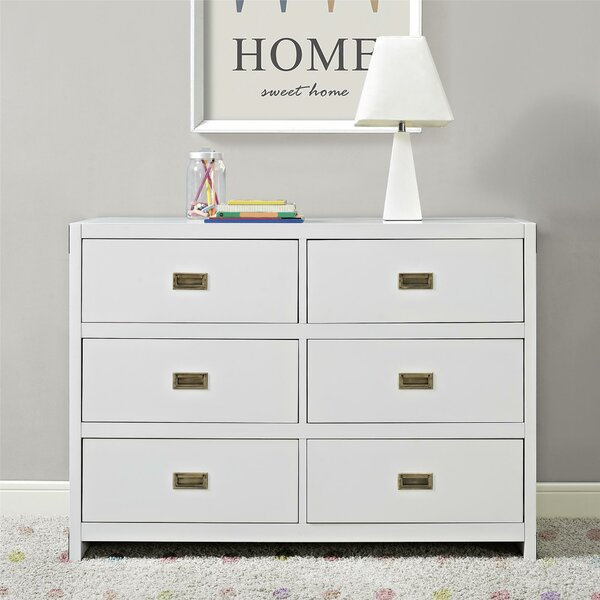 Benbrook 6 Drawer Double Dresser By Greyleigh by Greyleigh Comparison