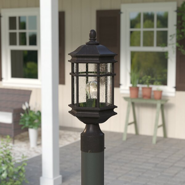 Derosier Outdoor 1-Light Lantern Head by Three Posts