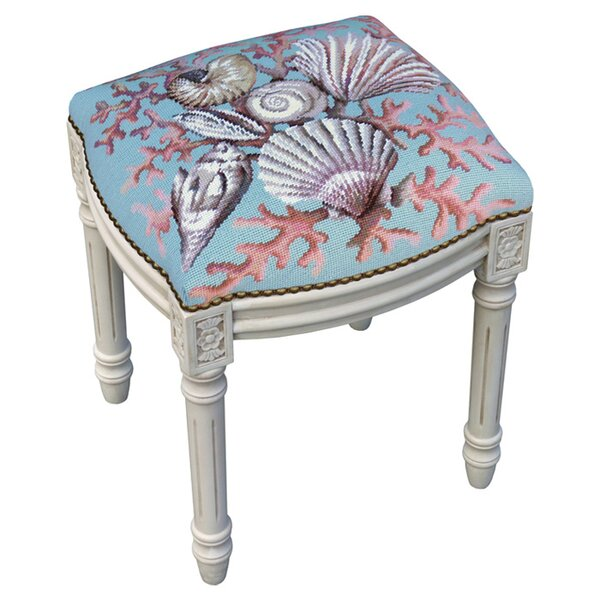 Hyannis Accent Stool by 123 Creations