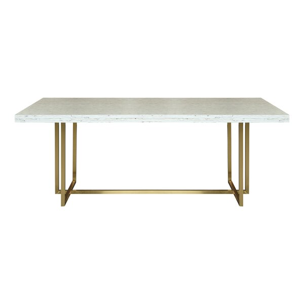 Genao Dining Table by Everly Quinn Everly Quinn