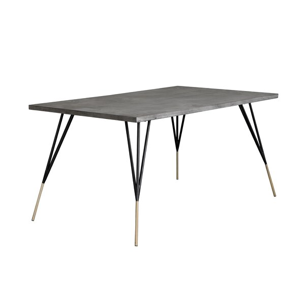 Amazing Pettis Dining Table By Orren Ellis Great price
