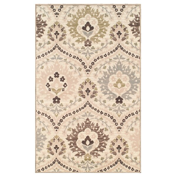 Horst Cream/Ivory Area Rug by Charlton Home