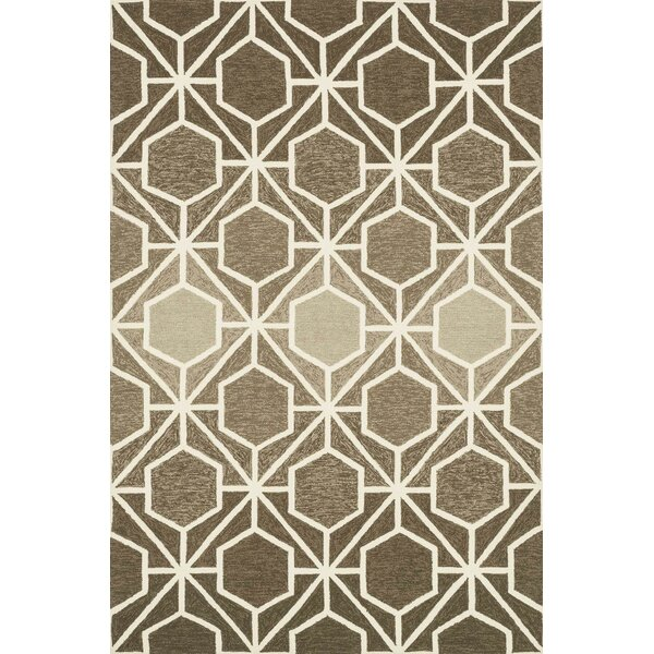 Danko Handmade Brown/Beige Indoor/Outdoor Area Rug by Wrought Studio
