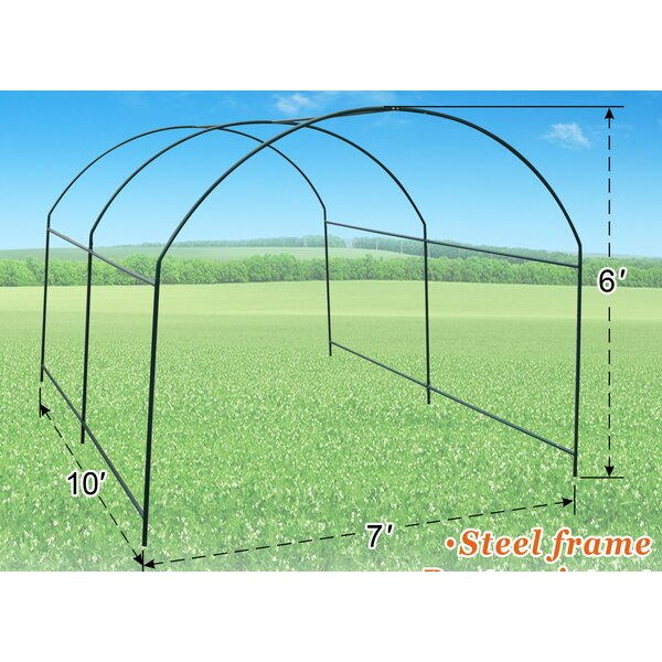7 Ft. W x 10 Ft. D Greenhouse by Strong Camel