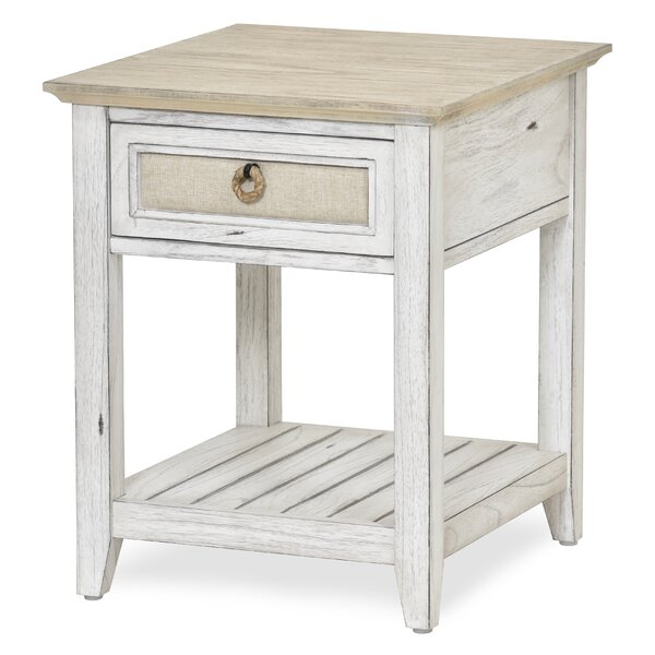 Juliet Island End Table with Storage by Rosecliff Heights