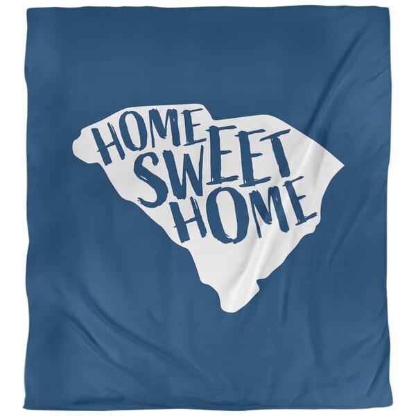 Home Sweet South Carolina Single Reversible Duvet Cover