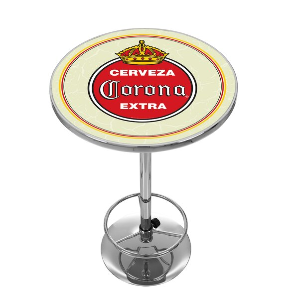 Corona Vintage Pub Table By Trademark Global #1