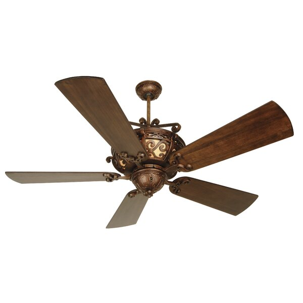 52 Whipkey 5-Blade Ceiling Fan by Fleur De Lis Living
