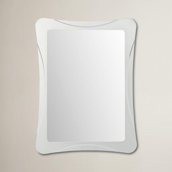 Logan Frameless Terassa Wall Mirror by Wrought Studio