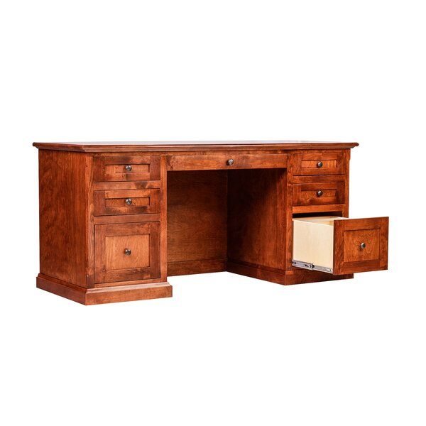Torin Knob Executive Desk by Millwood Pines