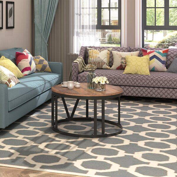 Anabella Floor Shelf Coffee Table By Union Rustic