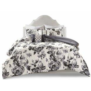 Black Nature Floral Duvet Covers Sets You Ll Love Wayfair