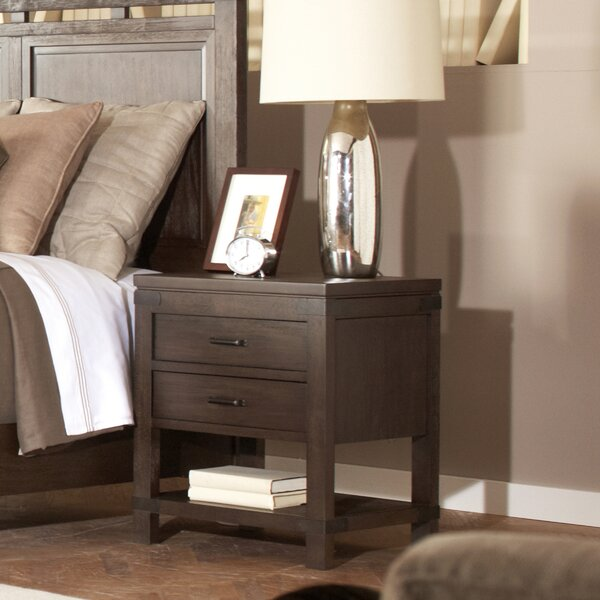 Beartree 2 Drawer Nightstand by Trent Austin Design