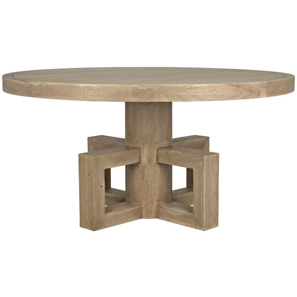 Lima Solid Wood Dining Table by Noir