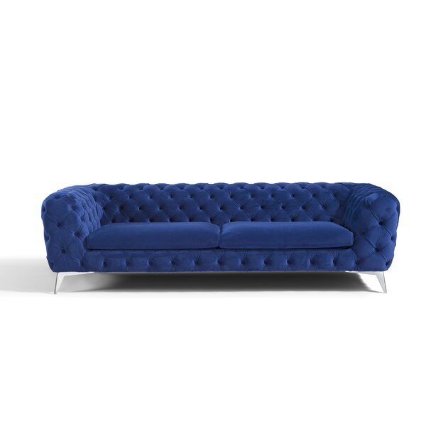 Gainesville Chesterfield Sofa by Everly Quinn