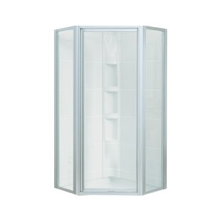 Reviews Intrigue 1.81 x 72 Neo-Angle Shower Enclosure BySterling by Kohler