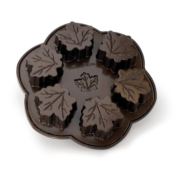 Bundt Brand Bakeware Maple Leaf Cake Pan by Nordic Ware