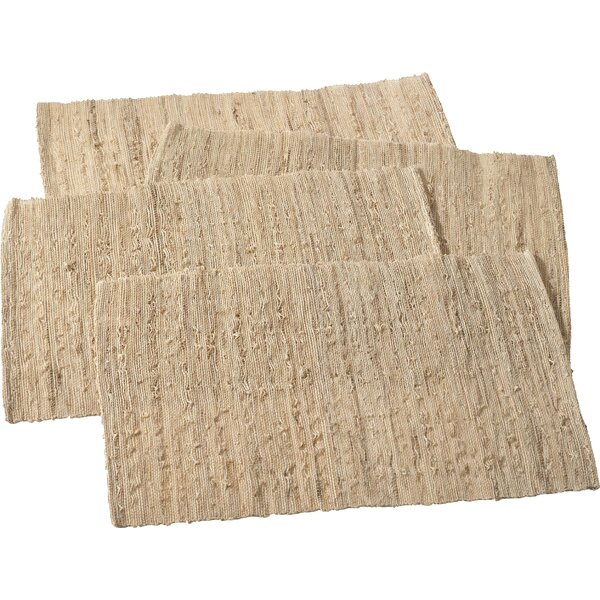 Melaya Woven Nubby Placemat (Set of 4) by Saro