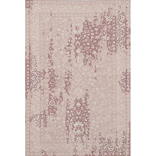 One-of-a-Kind Rufina Handmade Dark Ivory Area Rug by Isabelline