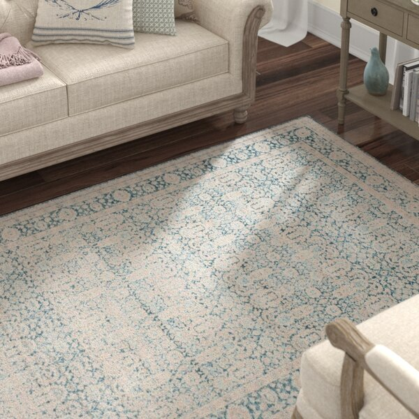 Bertille Blue/Gray Area Rug by Lark Manor
