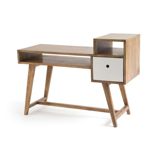 Korina Writing Desk by Corrigan Studio
