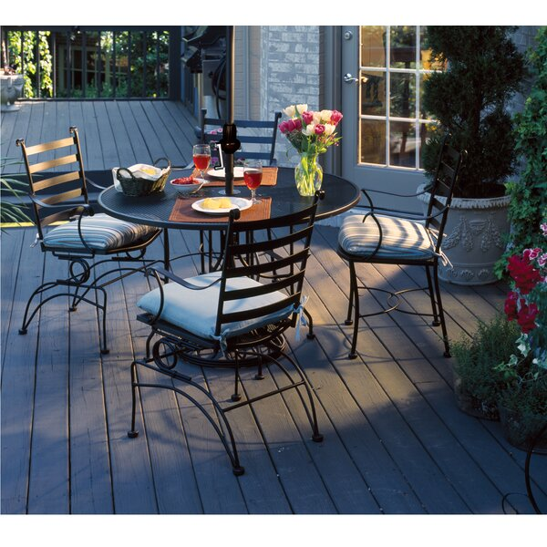 Athens Metal Dining Table by Meadowcraft